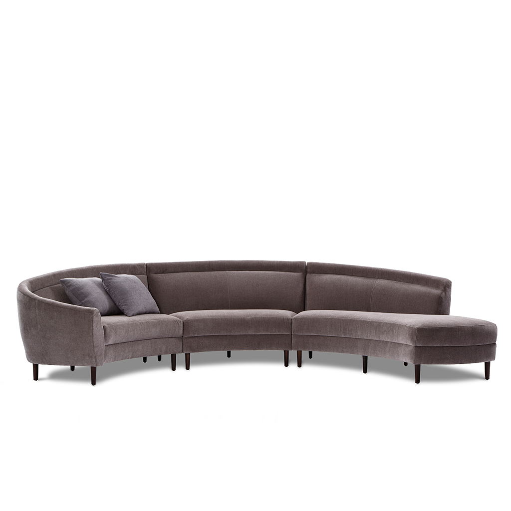 Sofa Mart Aurora Capri Sectional Deaurora Showroom