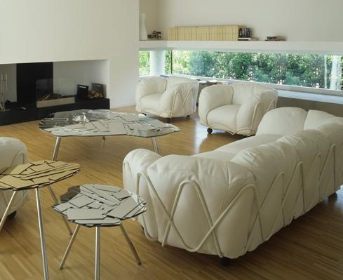 Große kuschelige Sofas -  - kuschelige sofas corbeille sofa edra