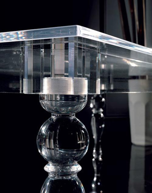 Innovatives Acryl Esstisch Design von u0027Colico Designu0027 aus Italien - innovatives acryl esstisch design colico design italien