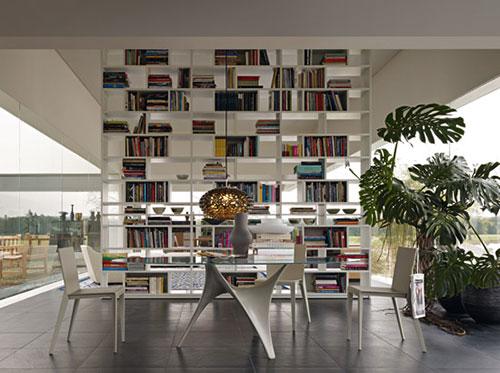 Moderner runder Glasesstisch -  - kuschelige sofas corbeille sofa edra