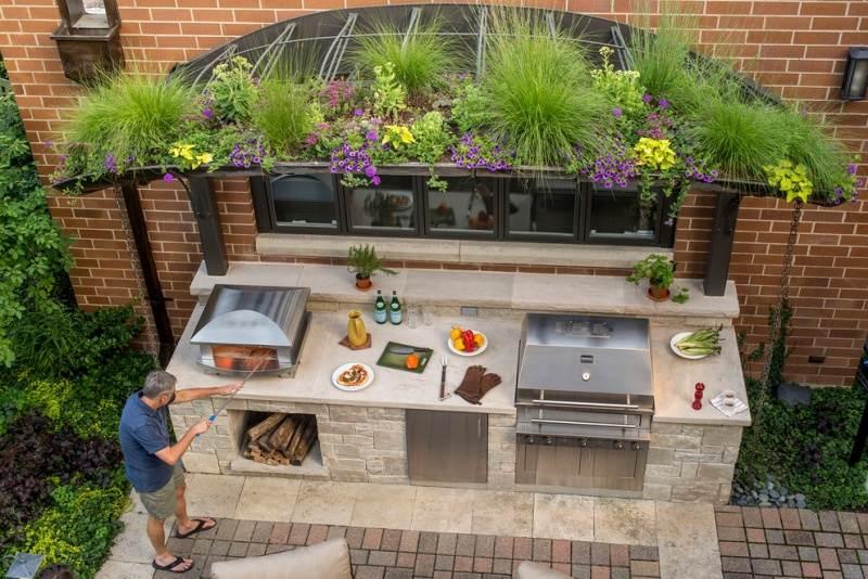 Außergewöhnlich Outdoor Küchen Gardenplaza Moderne OutdoorKüchen Sind Geräumig Multifunktionelle  Outdoor Kuche Wwoo