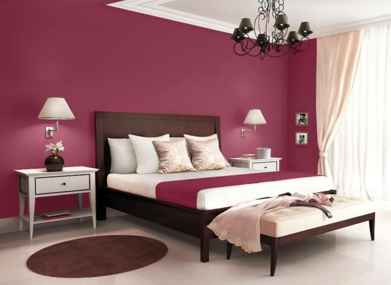 Die besten Farben für Schlafzimmer - 19 Ideen - farben fur wande