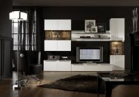 Schwarzes Wohnzimmer Design Ideen