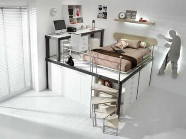 Teenager Zimmer - 55 Ideen für eine moderne Einrichtung - schlafzimmer einrichten spiele