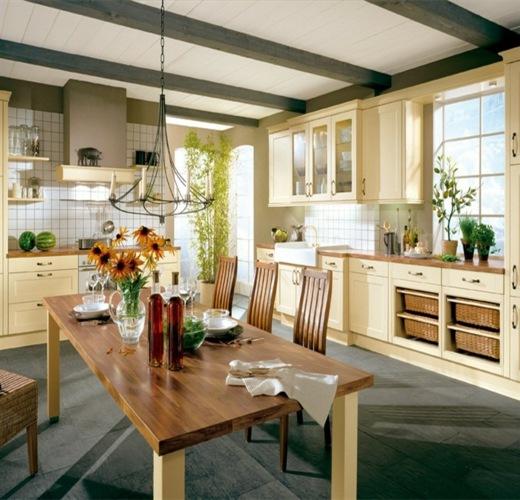 große-gemütliche-küche-landhausstiljpg (520×500) Home Pinterest - küche im landhausstil