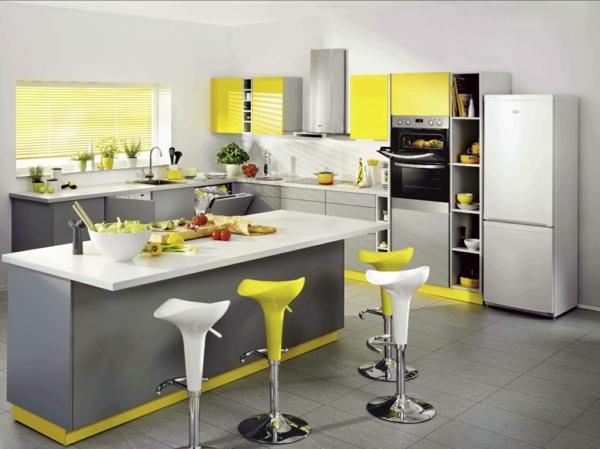 Schön Die Sonne Scheint Das Ganze Jahr In Einer Gelben Küche   Sonne Scheint  Gelben Kuche