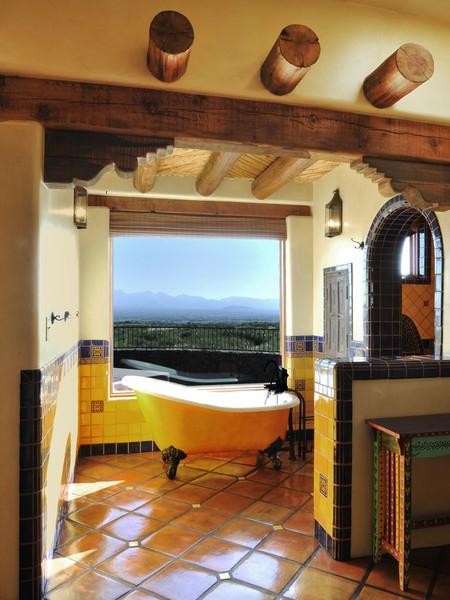 Schön Badmöbel Design Mit Einem Spanischen Geist   Badezimmer Spanisch