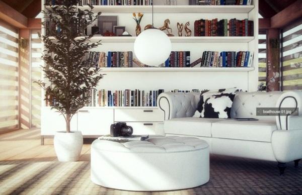 dramatisches-weises-interieur-design-beeinflusst-escher-97 ... - Dramatisches Weises Interieur Design Beeinflusst Escher