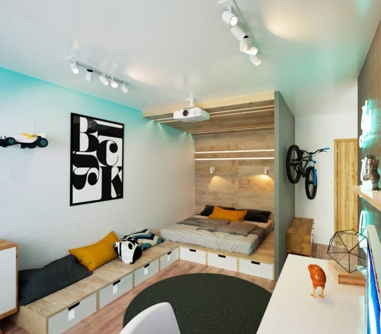 Kreative Wandgestaltung für Jugendzimmer und Kinderzimmer - kreative wandgestaltung