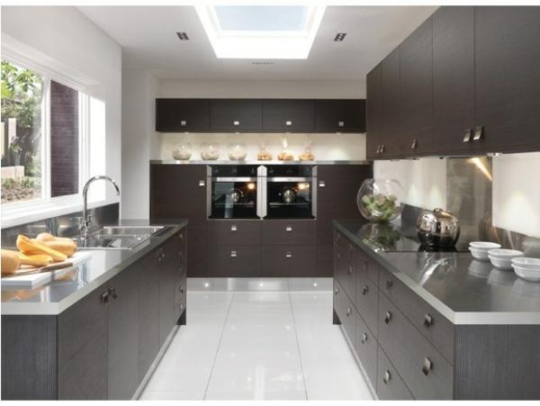 Küchen selbst gestalten u2013 5 Küchenschrank Typen