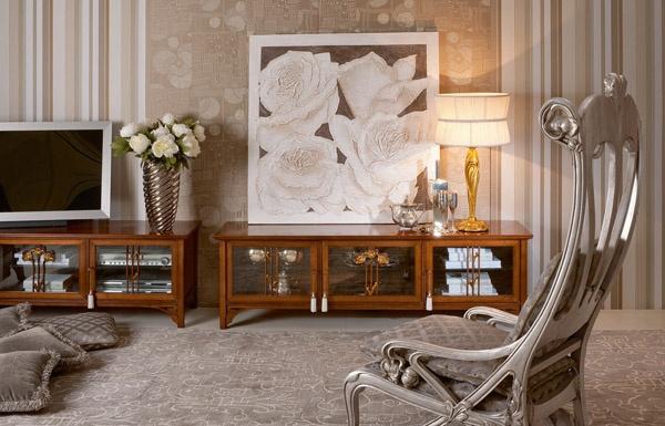 Designer holzmobel skulptur  spiegel, rund, aus holz d 60 cm andersen | dekoration | pinterest ...