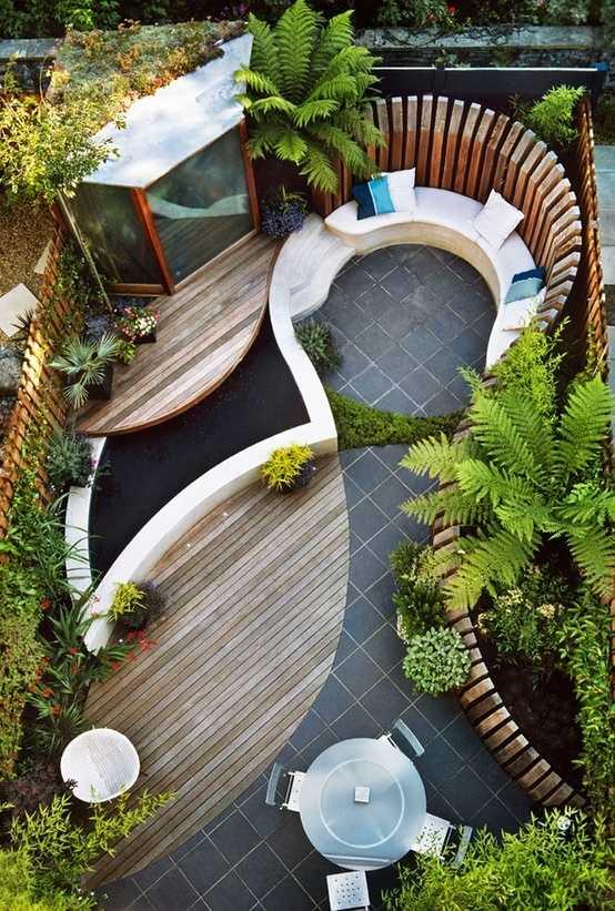Sichtschutz für Terrassen - 13 Ideen für Ihre Privatsphäre im Garten - tipps sichtschutz garten privatsphare