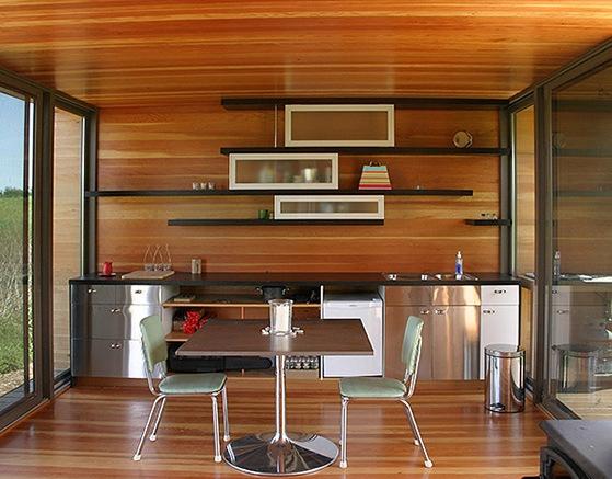 Das moderne Fertighaus - 8 modulare,effiziente und mobile Fertighäuser - moderne modulare kuche komfort