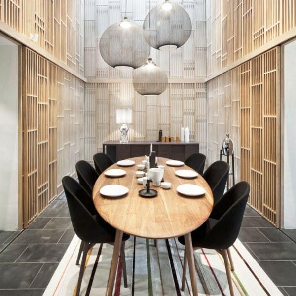 Feng Shui Einrichtung U2013 Exotische Interieur Inspirationen Aus China   Esszimmer  2013