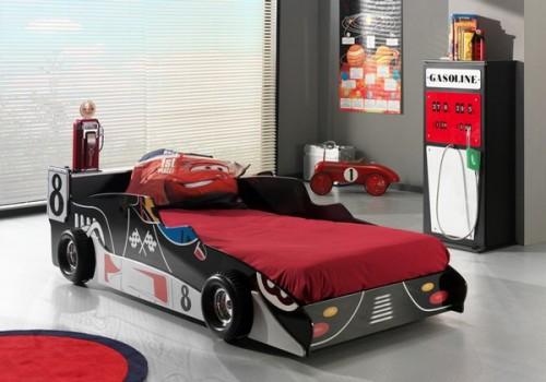 50 Ideen für traumhaftes Auto Kinderbettu2013 modernes Kinderzimmer Design - kinderzimmer junge auto