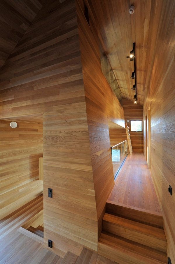 emejing holzverkleidung innen modern gallery - house design ideas ...