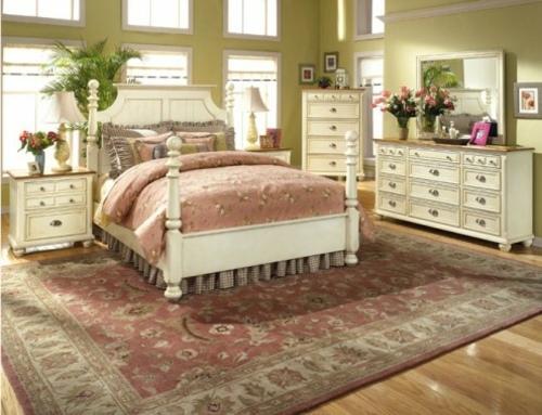 12 Schlafzimmer Ideen - romantische Einrichtung im Landhausstil - schlafzimmer ideen landhausstil