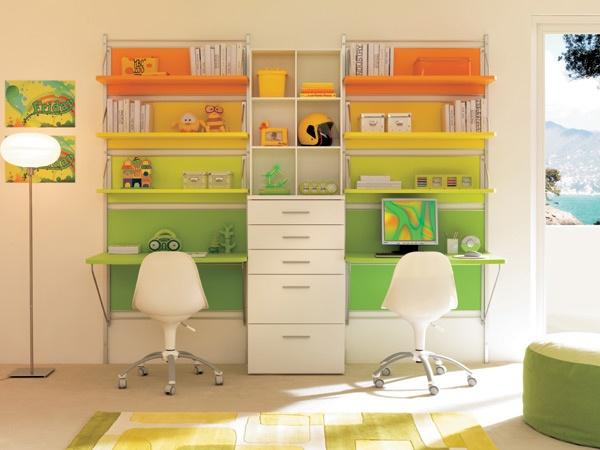 Schreibtisch für Jugendzimmer - Lernplatz im Kinderzimmer gestalten - ideale schreibtisch im kinderzimmer
