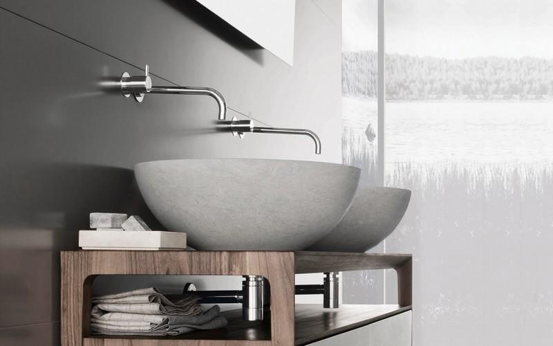 Waschbecken Designs Holz Runden Formen U2013 Moderniseinfo   Liubja Lounge  Bar Design Mit Skulpturellem Charakter Von