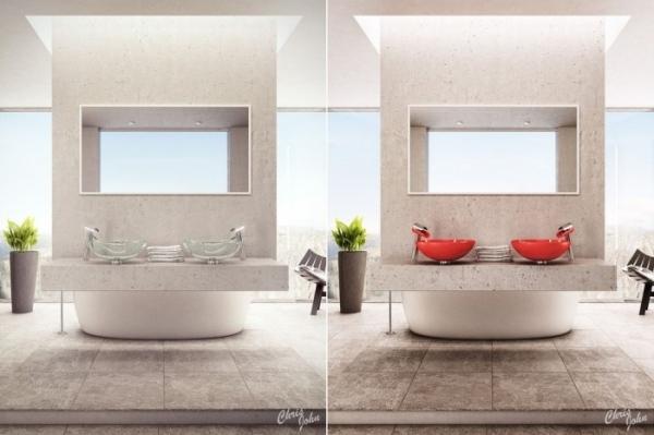 das moderne badezimmer mit wellness-atmosphäre - 12 spa design ... - Das Moderne Badezimmer Wellness Design