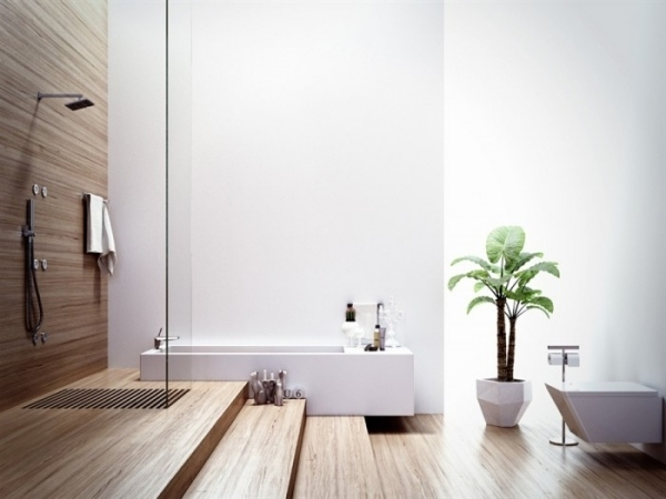 Erfreut Das Moderne Badezimmer Wellness Design Bilder ...
