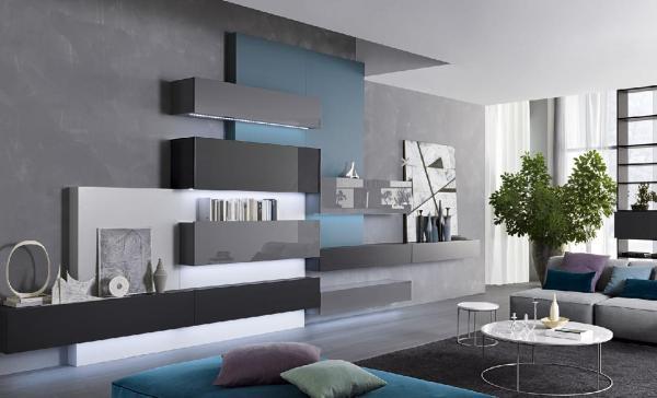 Außergewöhnlich Yarial U003d Moderne Italienische Wohnwand ~ Interessante  Ideen Italienische Mobel Besana Wohnwande