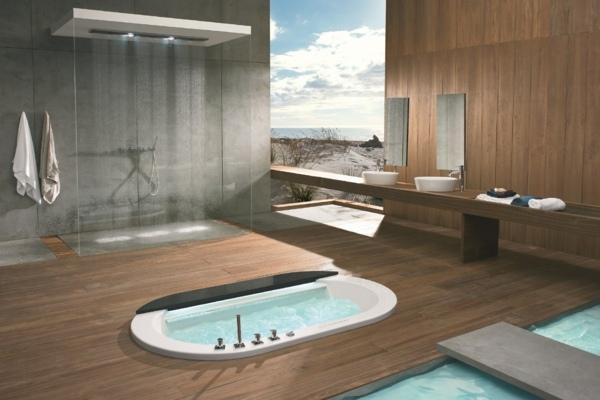 25 Whirlpool Designs für innen und außen sorgen für Spa Erlebniss - badezimmer einbau