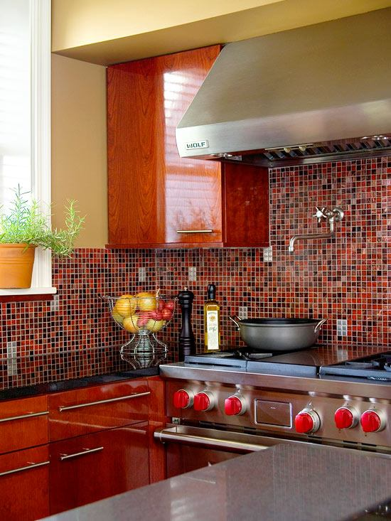 Küche Mosaik Fliesen