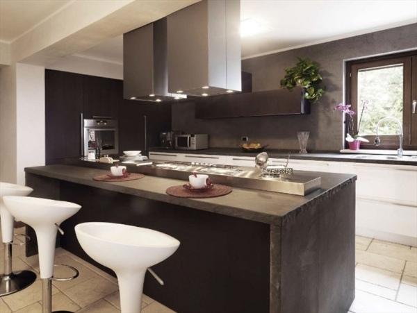 Exklusive Küche Mit Kochinsel Von TM U2013 Einrichtungstrends Aus Italien    Kuchen Mobel Italien