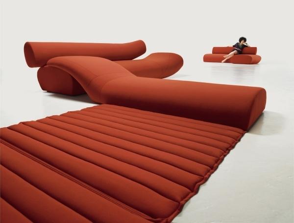 Design Ledersofa David Batho Komfort Asthetik
