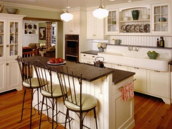 Klassische Weiße Küche Einrichten U2013 15 Raffinierte Küchengestaltungen   Moderne  Kuche Wellenformen