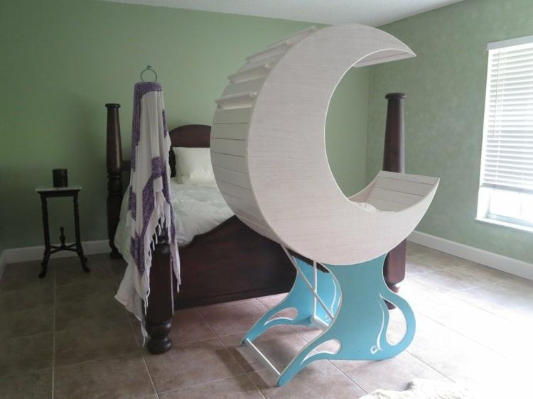 Emejing Babywiege Aus Holz Lulu Nanna Ditzel Ideas   House Design   Baby  Wiege Rezyklierten Materialien