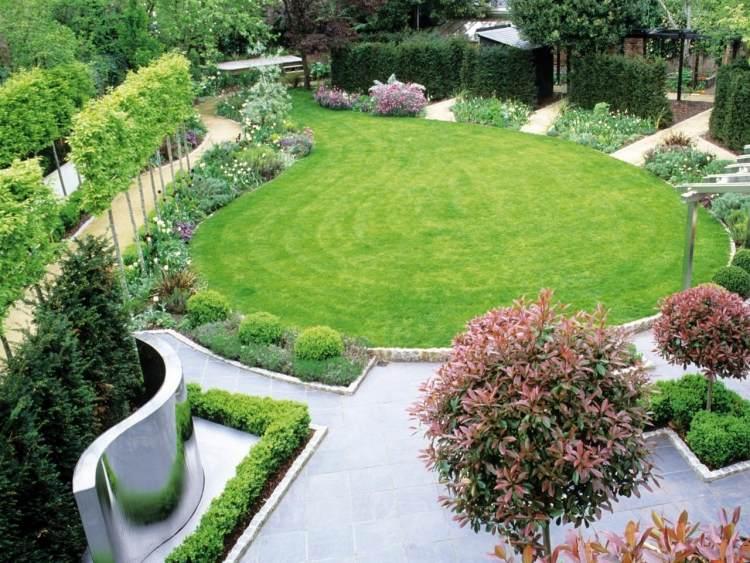 Tipps zur formalen Gartengestaltung - Geometrische und klare Formen - gartengestaltung tipps