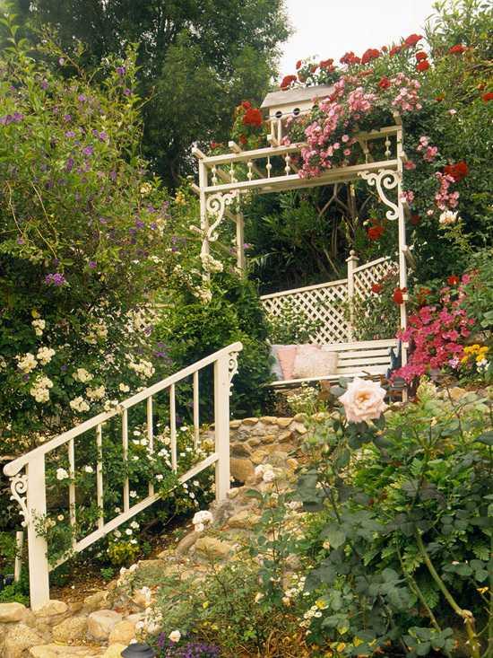 Garten am Hang anlegen - Ideen \ optimale Lösungen für Hanggestaltung - garten am hang