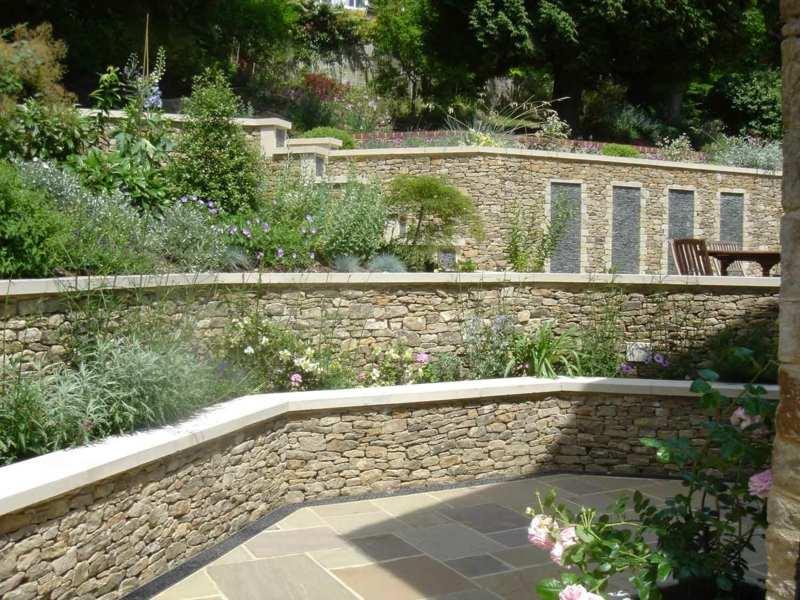 Gartenmauer Bauen Praktische Ideen Fur Individuelle