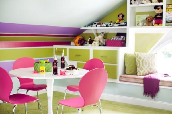 Mädchen Kinderzimmer Streifen ~ Alle Ideen für Ihr Haus Design und - kinderzimmer streichen madchen