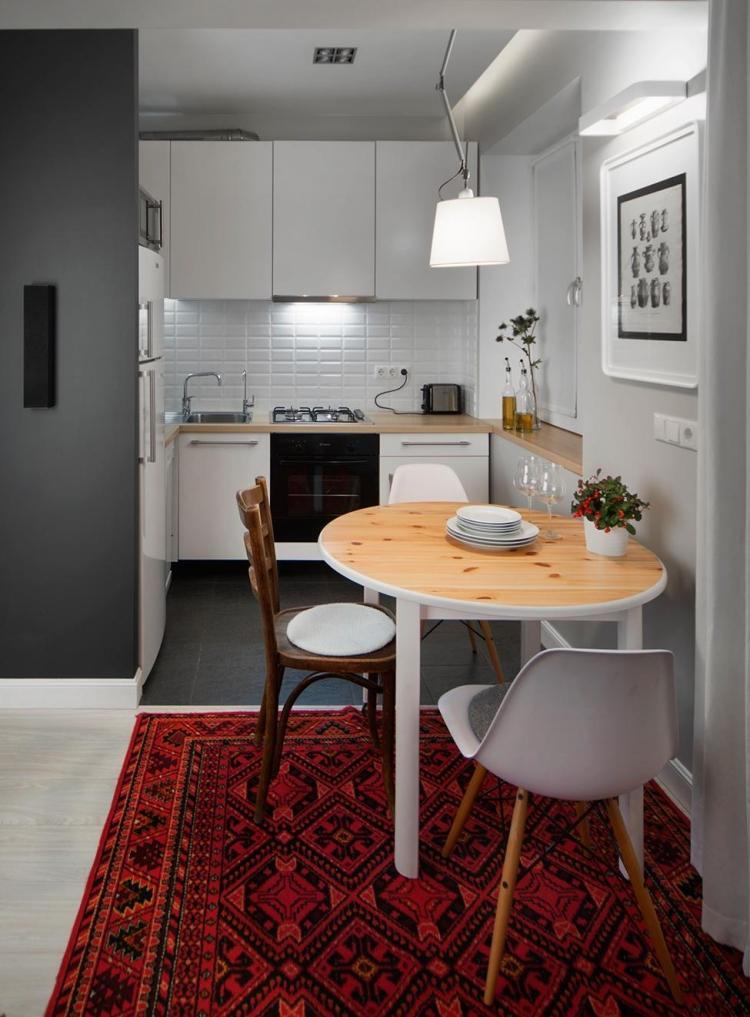 Küchenlösungen für kleine Küche u2013 wie wird wenig Platz optimal genutzt - moderne kuche praktische kuchengerate
