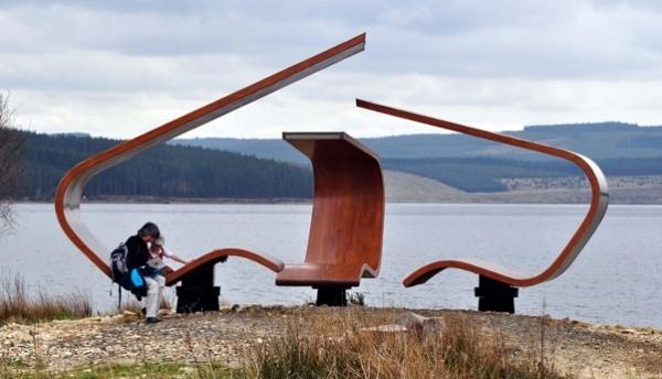 Schön Janus Chairs Projekt Kunst Stuhl Design Iwashmybike Holz Stuhl Skulpturales  Design Zollt Anerkennung Historischem Gebaude