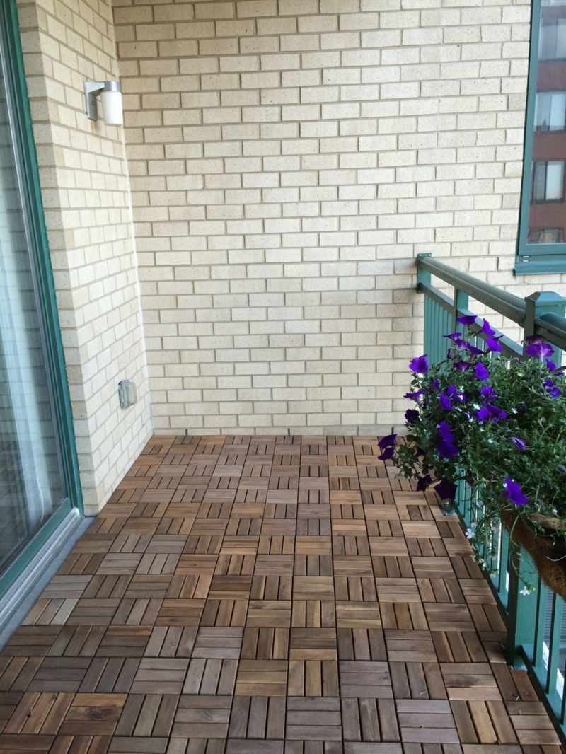 Balkon Wande Verkleiden Wohnblockhauser Aus Vierkantholz Perr