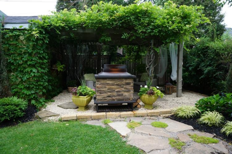 Gemütlichen Rückzugsort im eigenen Garten gestalten und genießen - garten gestalten bilder