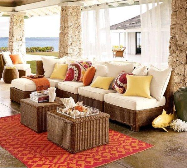 ... Gartenmöbel Aus Polyrattan   12 Schöne Ideen Für Außeneinrichtung    Gartenmobel Aus Polyrattan
