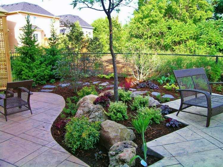 41 Ideen für kleinen Garten - Die Gestaltung bei wenig Platz - kleinen vorgarten gestalten