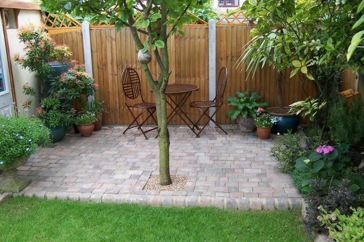 41 Ideen für kleinen Garten - Die Gestaltung bei wenig Platz - kleine terrasse gestalten