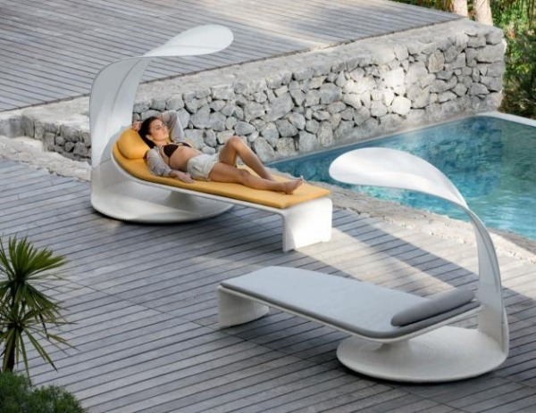 Lounge Outdoor Möbel Strand Relax Möbel Mit Innovativem Design Verbreiten