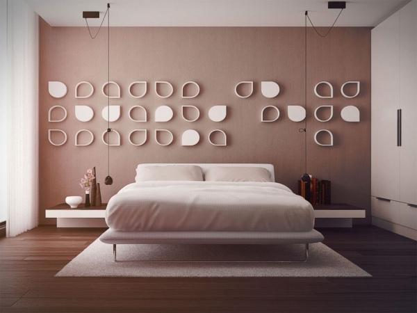 40 coole Ideen für effektvolle Schlafzimmer Wandgestaltung - gestaltung schlafzimmer ideen
