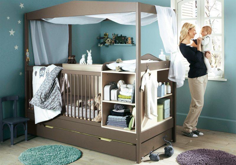 Babyzimmer einrichten - 25 kreative Ideen für kleine Räume - schlafzimmer ideen fur kleine raume