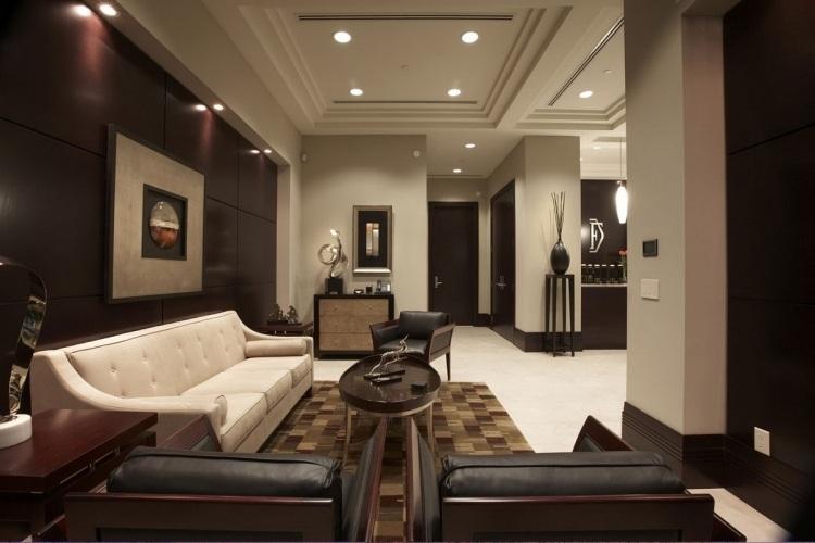 Natürliche Farbgestaltung in Erdtönen - Wohnzimmer in Braun - wohnzimmer in braun