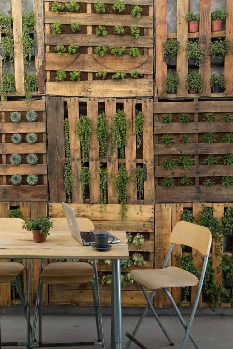 Umtopftisch Tips For Innovative Use Of Wood Euro Pallets In The Backyard