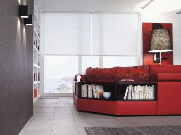 Beautiful Design Sofa Plat Von Arketipo Mit Integriertem Regal Und ...