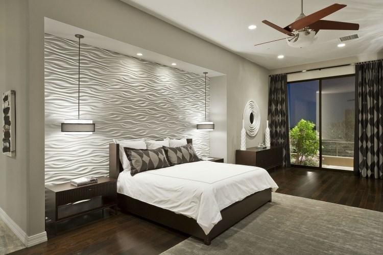 40 coole Ideen für effektvolle Schlafzimmer Wandgestaltung - schlafzimmereinrichtung ideen